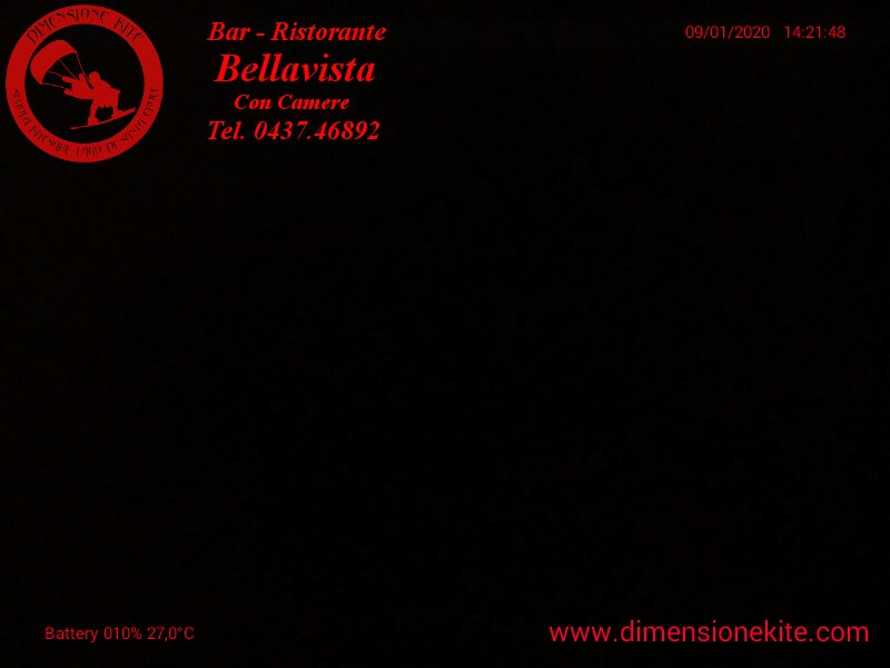 Webcam Bellavista Lago di Santa Croce